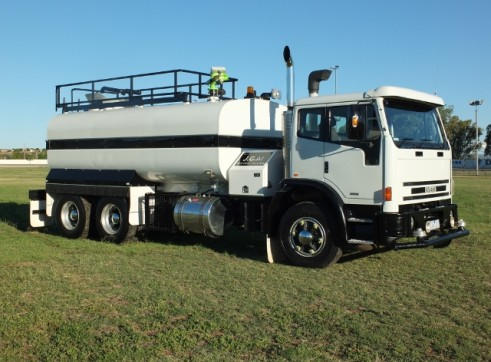 Iveco Water Truck  1