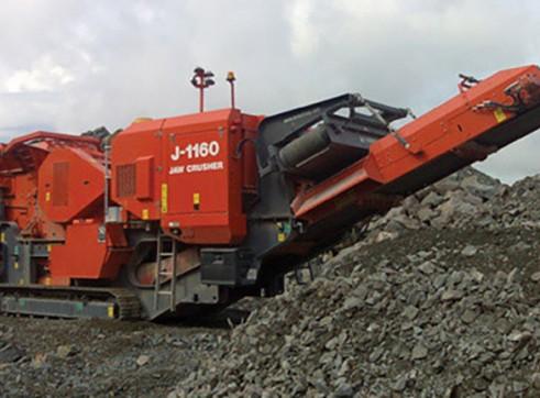 J-1160 Jaw Crusher 6