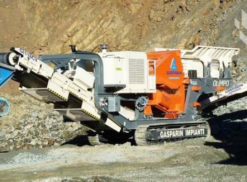 JAW CRUSHER - Gasparin Impianti 118V 1