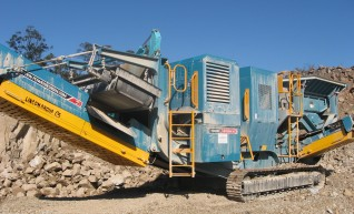 Jaw Crusher XR400S 1