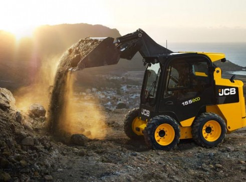 JCB 155W Wheeled Skid Steer Loader