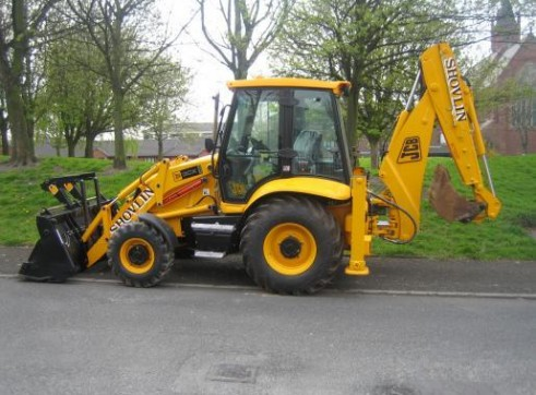 JCB 3CX 4x4 Backhoe loaders 1