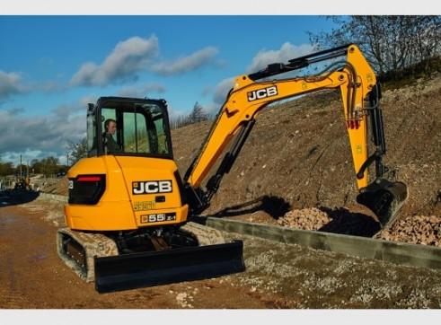 JCB 55Z-1 Mini Excavator 5 Tonne 1