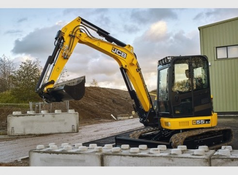 JCB 55Z-1 Mini Excavator 5 Tonne 3