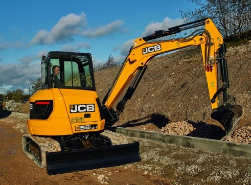 JCB 55Z-1 Mini Excavator 5 Tonne