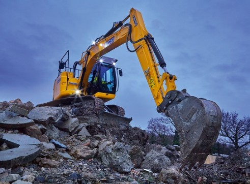 JCB JZ140 Excavator 14 Tonne 4
