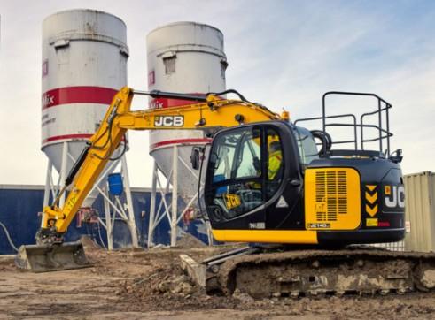 JCB JZ140 Excavator 14 Tonne