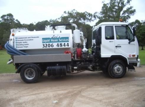 Jet Rodding Vacuum Truck 3850L 1
