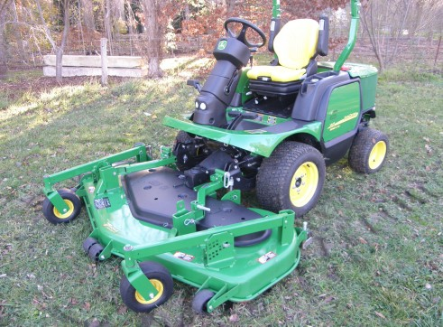 John Deere 1445 Front Mower - Commercial Mowing  1