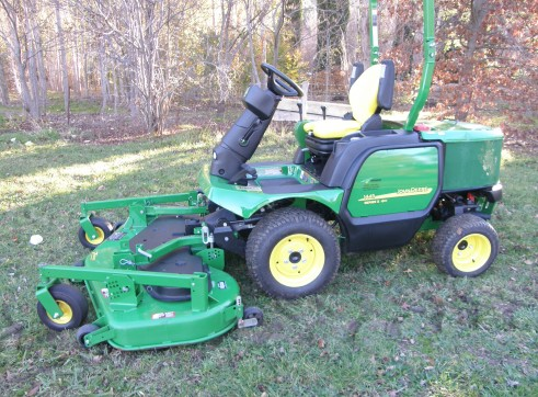 John Deere 1445 Front Mower - Commercial Mowing  2