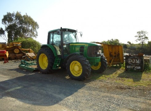 JOHN DEERE 6530 4X4 WITH SLASHER 1