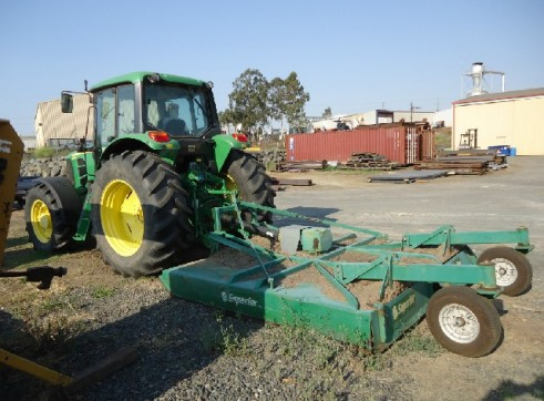 JOHN DEERE 6530 4X4 WITH SLASHER 2