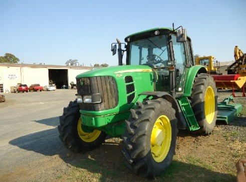 JOHN DEERE 6530 4X4 WITH SLASHER 3
