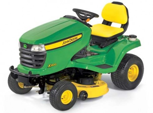 John Deere X300 Ride On Mower