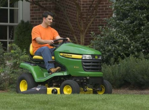 John Deere X300 Ride On Mower  3
