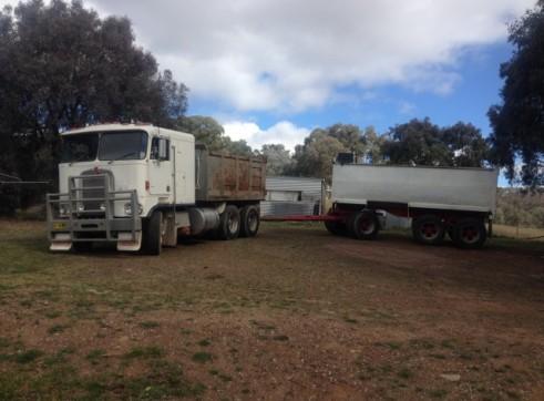 Kenworth Tipper - Truck & Trailer - 26T 2