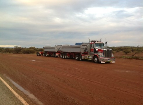 Kenworth, western star  Side Tippers & Side Tipper Trailer Only - Mine Spec 1