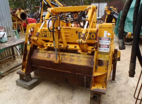 Kirpy Broons Rock Crusher Model BPB200 3