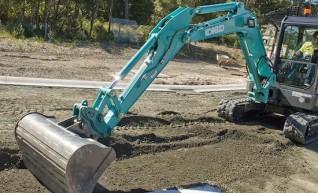 Kobelco 5 T Excavator 1