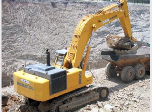 Komatsi PC1250 -SP7 Excavator 1