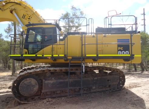 Komatsu 80T PC800-7 Excavator 2