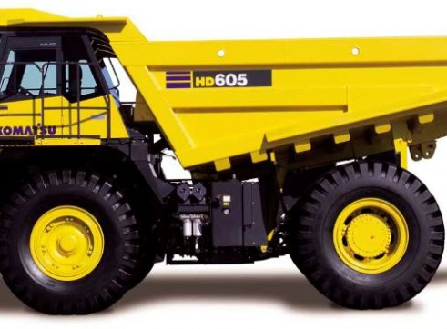 Komatsu HD605-7E0 Rigid Dump Truck 1