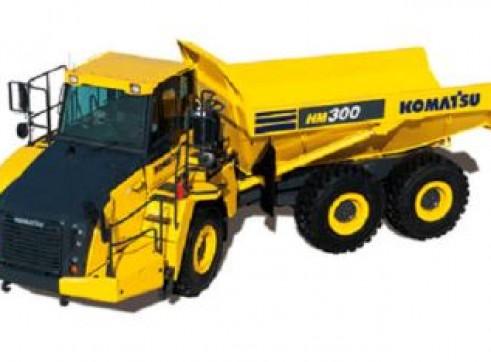 Komatsu HM300 30 Tonne Articulated Dump Truck 1