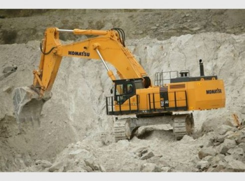 Komatsu PC1250SP-7 Excavator 1