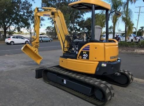 Komatsu PC40MR Mini Excavator