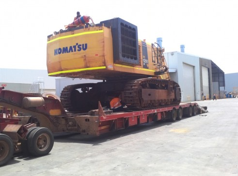 KOMATSU PC1250 Excavator 5
