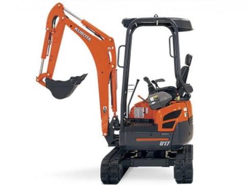 Kubota 1.7t Mini Excavator