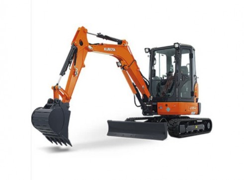 Kubota 3.5t Mini Excavator (a/c cab optional) 1