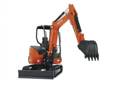 Kubota 3.5t Mini Excavator (a/c cab optional) 2