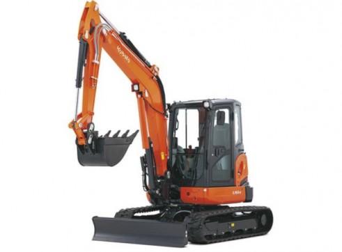 Kubota 5.5t Mini Excavator (a/c cab optional)