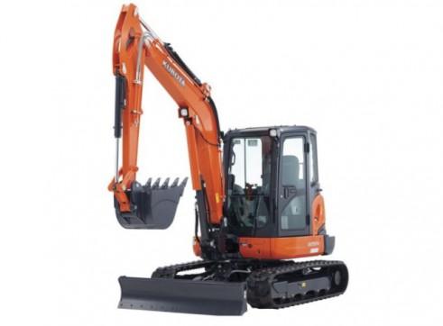 Kubota 8t Mini Excavator