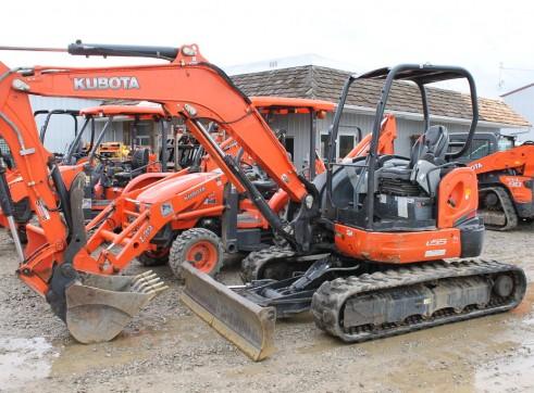 Kubota KX80-4 10T Hi-rail Excavator 1