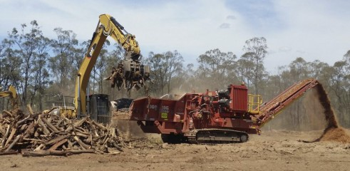 Land Clearing - Horizontal Grinders & Tracked Mulchers 2