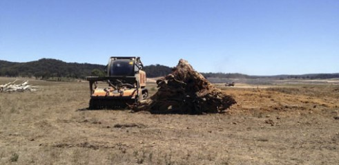 Land Clearing with Tracked Mulcher 8