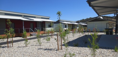Landscaping and Footpath | Red Valley Mining Camp 11