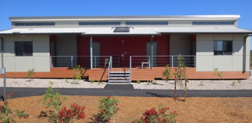 Landscaping and Footpath | Red Valley Mining Camp 13