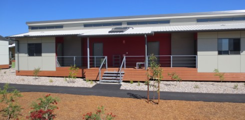 Landscaping and Footpath | Red Valley Mining Camp 14