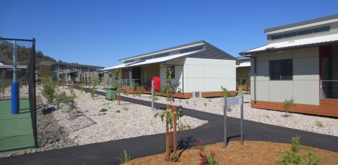 Landscaping and Footpath | Red Valley Mining Camp 15