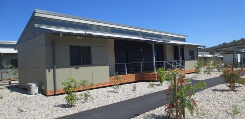 Landscaping and Footpath | Red Valley Mining Camp 1