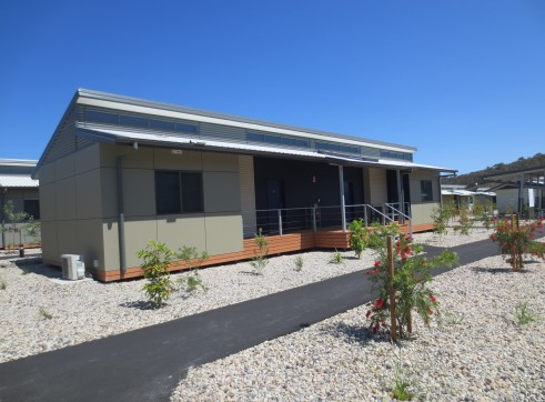 Landscaping and Footpath | Red Valley Mining Camp