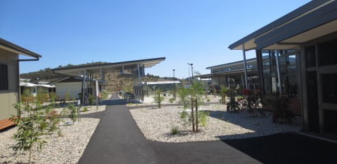 Landscaping and Footpath | Red Valley Mining Camp 5