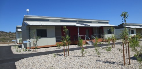 Landscaping and Footpath | Red Valley Mining Camp 9