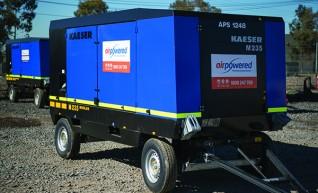 Large Portable Diesel Compressor 900cfm @120psi 1