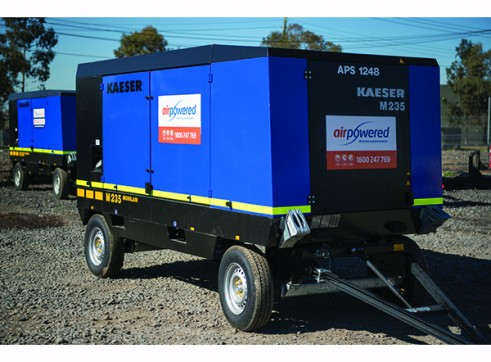 Large Portable Diesel Compressor 900cfm @120psi 1