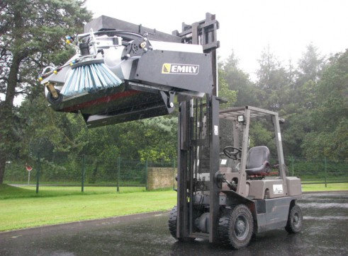 Leader Clean Collection Sweeper 2