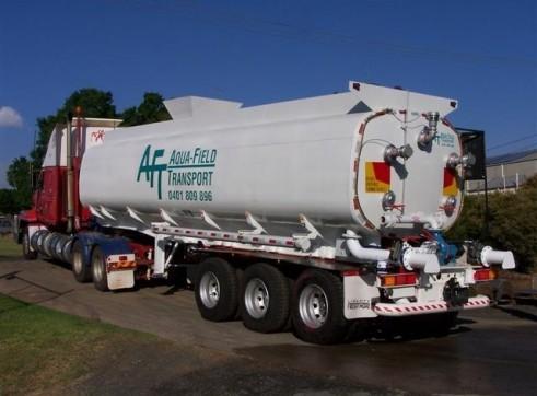 Liberty 30,000L Water Tanker 1